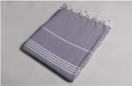 Hamamdoek 100x180 - grijs
