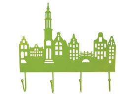 "Kapstok ""Amsterdam"" groen"