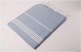 Hamamdoek 100x180 - blauw
