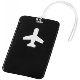 Bagagelabel - Plane - 2 stuks