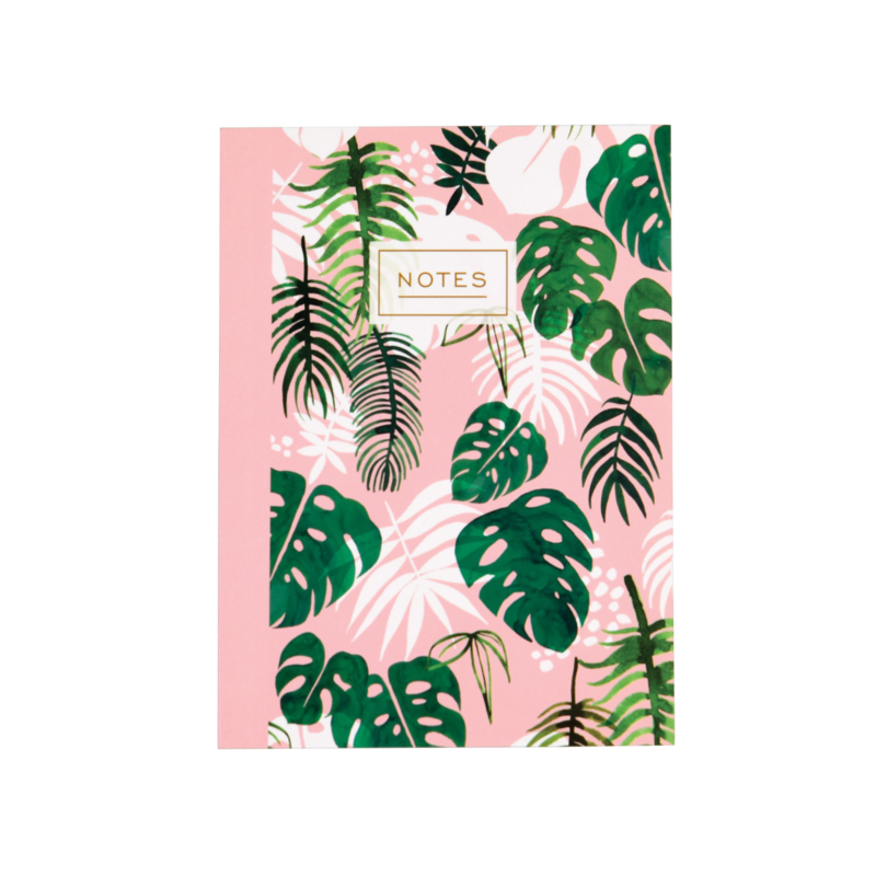 Notitieboekje A6 - Tropical Palm