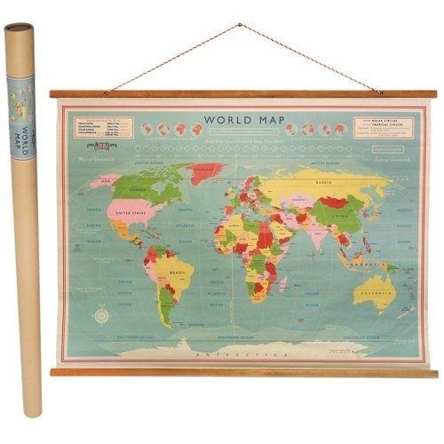 Onwijs Vintage wereldkaart | Wereldkaarten | Happy Flamingos XA-71