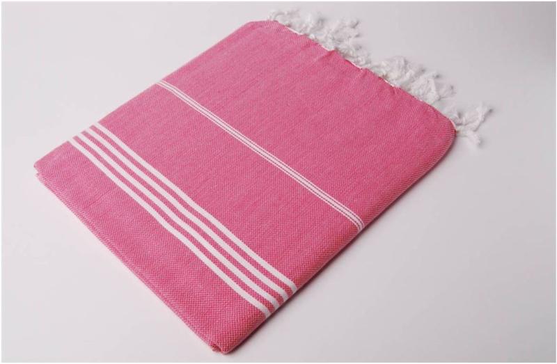 Hamamdoek 100x180 - fuchsia roze