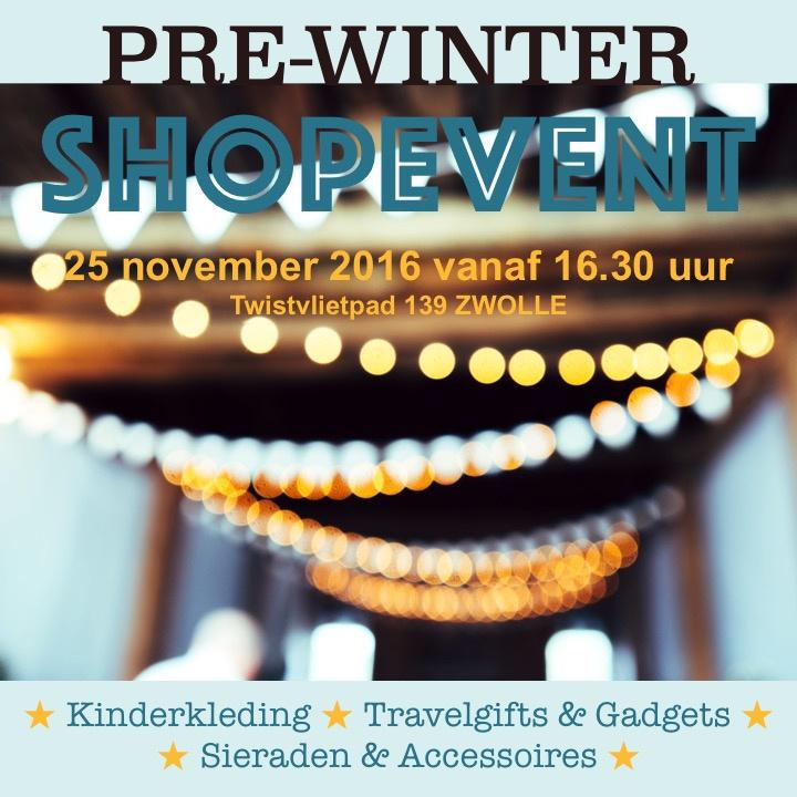 Pre-WINTER-Shopevent - 25 november 2016