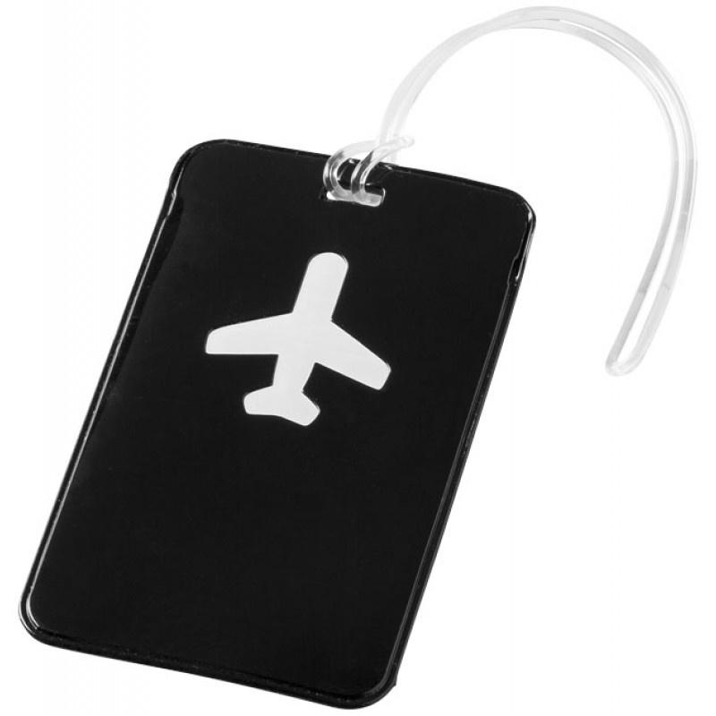 Bagagelabel Plane - 2 stuks