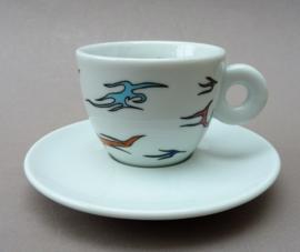 Illy Art Collection 1998 espresso kop met schotel nr 3488