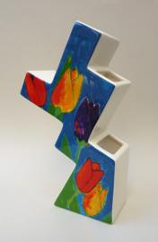Tulpenvaas Philadelphia Schoonhoven keramiek