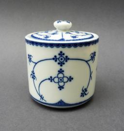 Indian Blue Blau Saks suikerpotje met deksel