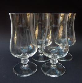 Kristallen Hurricane cocktail glazen
