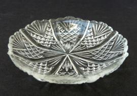 Early American Pattern Glass zoutschaaltje