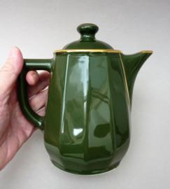 Apilco koffiepot groen Vert Empire met goud 750 ml