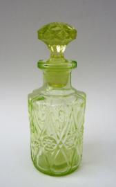 Annagroen persglazen parfumfles