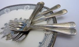 Gero Zilmeta model 294 Franse Lelie taartvorkjes - set van zes