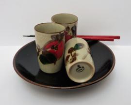 Niko Japan handbeschilderde hoge kommetjes