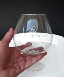 Ansac XL kristallen cognac snifter glas