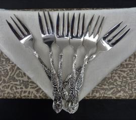Gero Zilmeta model Oud Hollandsch taartvorkjes - set van zes