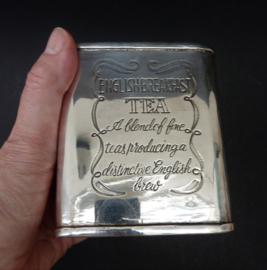 Verzilverde theebus English Breakfast Tea