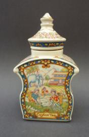 Sadler The World of Tea Collection Ceylon Tea porseleinen theebus voor Douwe Egberts