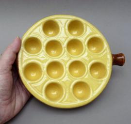 La Bourguignonne escargots ovenschaal 12 gaats - bruin geel