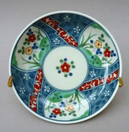 Japanse Juzan Gama porseleinen bordjes set