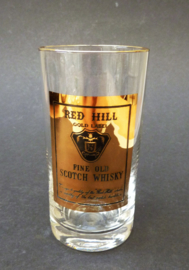 Red Hill Gold Label highball whisky glas