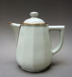 Apilco koffiepot wit met goud