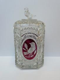 Hofbauer Crystal - The Byrdes Collection - koekdoos met deksel