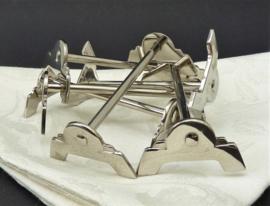 Gero Zilmeta Art Deco messenleggers - set van 12