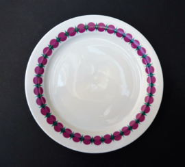 Thomas Rotunda roze groen salade of dessert bord