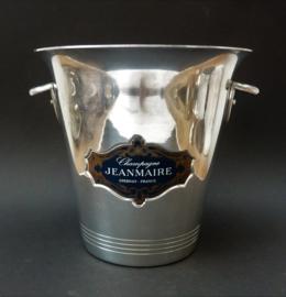 Jeanmaire Epernay aluminium Vogalu champagnekoeler