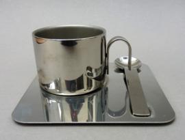 Dubbelwandige RVS espresso kopjes