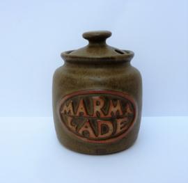 Marmelade pot Tremar pottery Cornwall Engeland