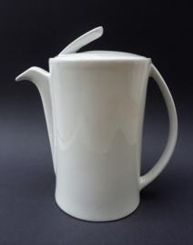 Berghoff Pieter Stockmans witte porseleinen design koffiepot