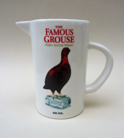 The Famous Grouse pitcher On ice