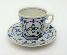 Winterling Blau Saks koffiekop en schotel
