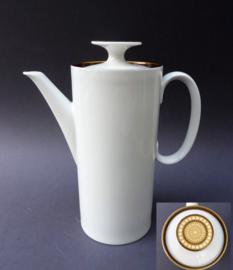 Thomas Medaillon koffiepot gouden dop