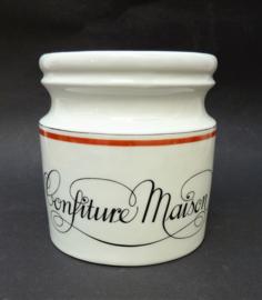 Jacques Lobjoy bistroware Confiture Maison pot