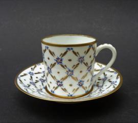 J Dumont Limoges porseleinen demitasse espresso kopje