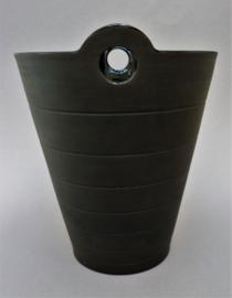 Wedgwood Nick Munro Jasper Collection Black Basalt porseleinen wijnkoeler