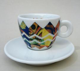 Illy Art Collection 1992 Arti e Mestieri Cosimo Francesco Illy espresso kop ties oh my ties