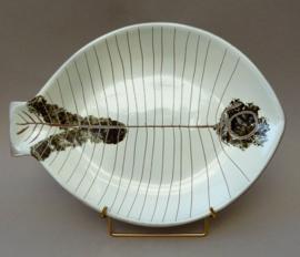 Mid Century pottery visschaal