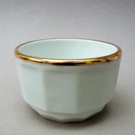 Apilco suikerpot wit met goud