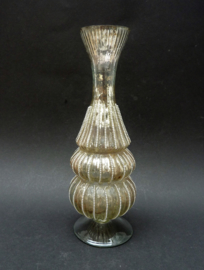 Vintage Venetiaans zilverglas vaasje