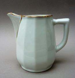 Apilco grote melk sap kan wit met goud