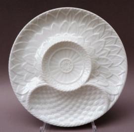 Gerold Bavaria wit porseleinen artisjok bord