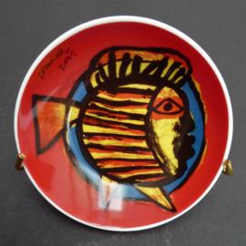 Corneille 2001 Vis met lippen schaaltje