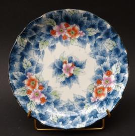 Vintage Japans Arita porseleinen bord met bloesem
