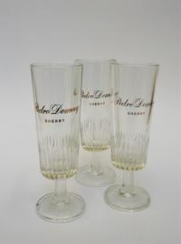 Sherry glas Pedro Domecq