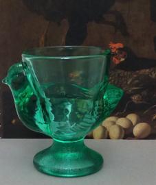 Luminarc France eierdop kuikentje turquoise