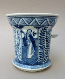 Antiek Mosa Maastricht Lange Lijs theefilter decor 206